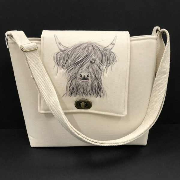 Posh Bag - Highland Cow