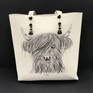 Posh Shopper Highland Cow