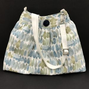 Skirt Bag Kit - Blue Dash Fabric
