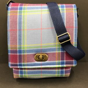 Hope Tartan Messenger Bag, Small
