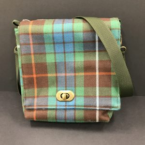 Fraser Tartan Double Pocket Shoulder Bag