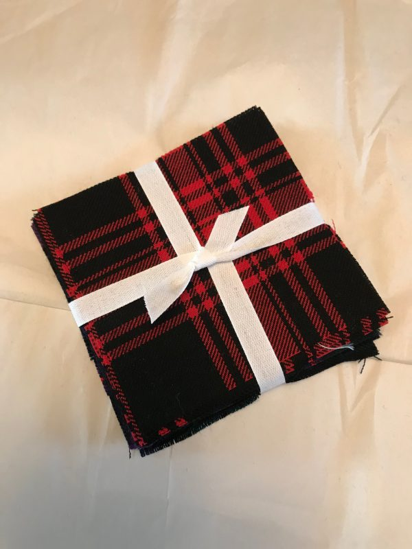 Tartan Charm Packs, 100% Wool