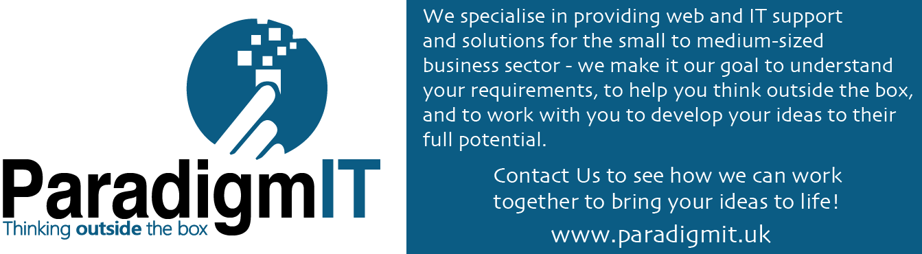 ParadigmIT Limited - Web and IT Support